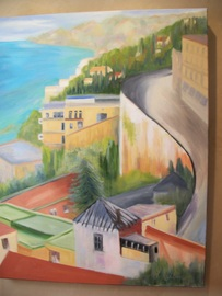 Bay of Naples - Oil