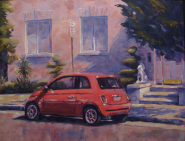 Cinquecento - 14x11, Acrylic on Canvas, $600